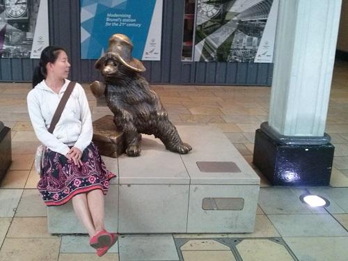 Paddington bear - Amy McPherson