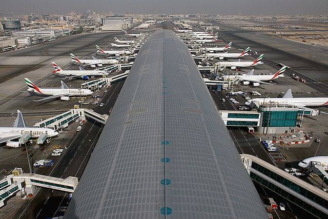 Dubai airport - source: GFDL-1.2