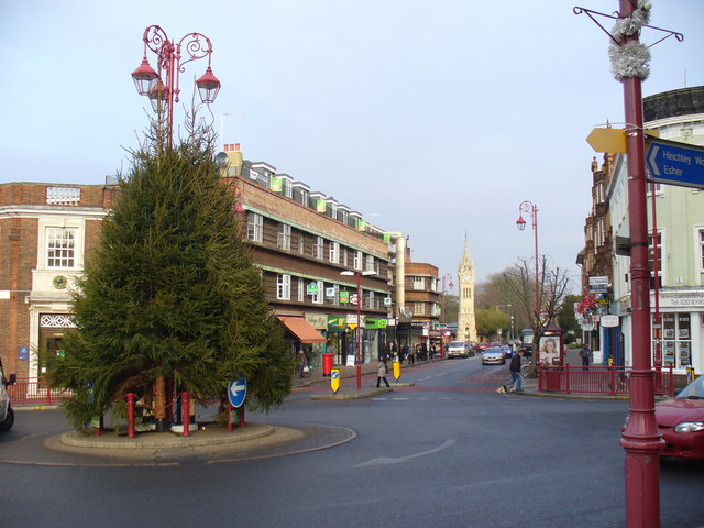 Surbiton town centre (Image Source: Wikimedia Commons CC BY-SA 2.0 | Credit to: Colin Smith)
