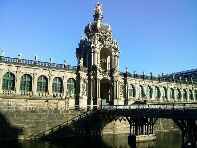Zwinger in Dresden - a fine example of Rococo architecture
