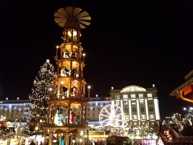 Striezelmarkt in Dresden is Germany's oldest documented Christmas Market, in its 582th year this year!