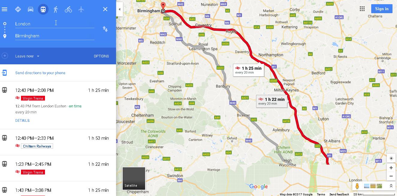 2017-05-02 12_34_58-london to birmingham - Google Maps